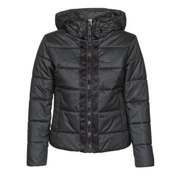 material Women Duffel coats G-Star Raw MEEFIC HDD PDD JACKET WMN Dk /  black