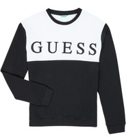 material Boy sweaters Guess L0YQ03-KA6R0-JBLK Black / White