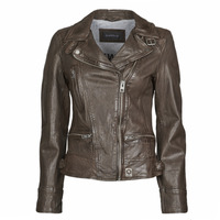material Women Leather jackets / Imitation leather Oakwood VIDEO Brown