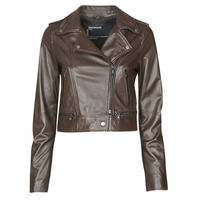 material Women Leather jackets / Imitation leather Oakwood YOKO Brown