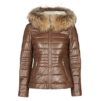 material Women Duffel coats Oakwood JELLY Cognac