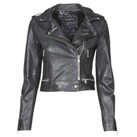 material Women Leather jackets / Imitation leather Oakwood KYOTO Blue / Dark
