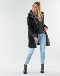 material Women coats Oakwood LILIANA BI Grey / Black