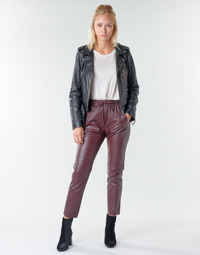 material Women 5-pocket trousers Oakwood GIFT Bordeaux