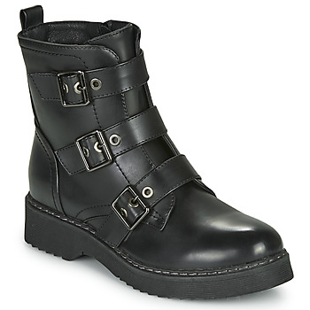 Shoes Women Mid boots Spot on F51069 Black
