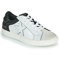 Shoes Men Low top trainers Steve Madden TANNER White / Black
