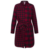 material Girl Short Dresses Pepe jeans LUPE Red