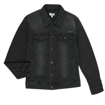 material Boy Denim jackets Pepe jeans LEGENDARY Black