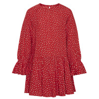 material Girl Short Dresses Pepe jeans CATY Red