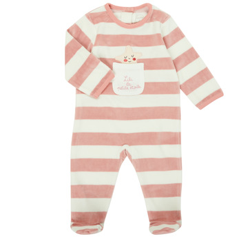 material Girl Sleepsuits Absorba 9R54053-32 Pink