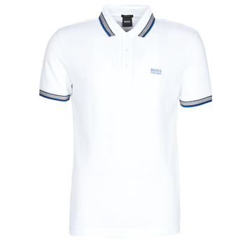 material Men short-sleeved polo shirts BOSS PADDY White