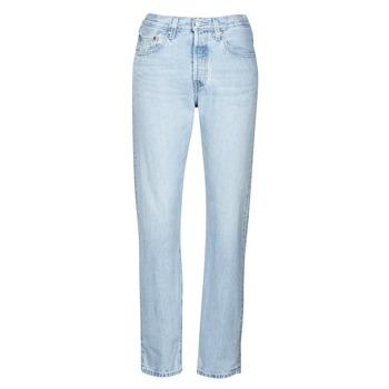 material Women Boyfriend jeans Levi's 501 CROP Luxor / Ra