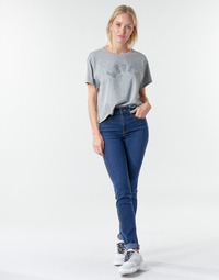 material Women straight jeans Levi's 724 HIGH RISE STRAIGHT Bogota / Calm