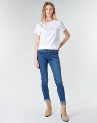material Women Skinny jeans Levi's 711 SKINNY Bogota / Life