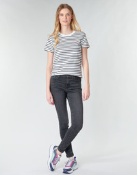 material Women Skinny jeans Levi's 720 HIGH RISE SUPER SKINNY Smoked / Out