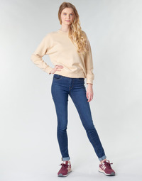 material Women Skinny jeans Levi's 721 HIGH RISE SKINNY Bogota / Feels