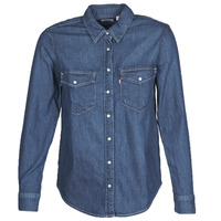 material Women Shirts Levi's ESSENTIAL WESTERN Blue