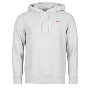 material Men sweaters Levi's NEW ORIGINAL HOODIE Granite / Heather