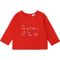 material Girl Long sleeved shirts Carrément Beau Y95252 Red