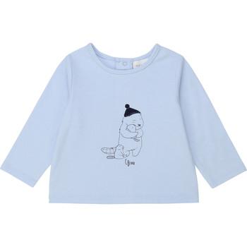material Boy Long sleeved shirts Carrément Beau Y95249 Blue