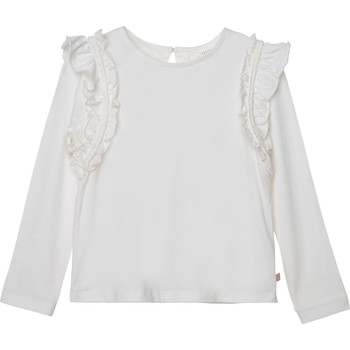 material Girl Long sleeved shirts Carrément Beau Y15359 White