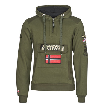 material Men sweaters Geographical Norway GYMCLASS Kaki