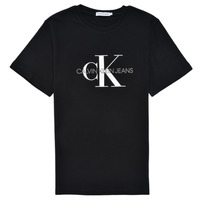 material Children short-sleeved t-shirts Calvin Klein Jeans MONOGRAM Black
