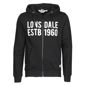 material Men sweaters Lonsdale SOLFACH Black