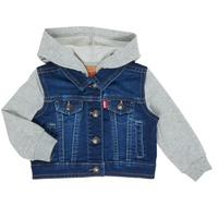 material Boy Denim jackets Levi's INDIGO JACKET Blue