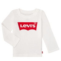 material Girl Long sleeved shirts Levi's BATWING TEE LS White
