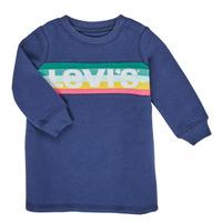 material Girl Short Dresses Levi's SWEATSHIRT DRESS Blue