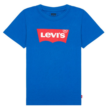 material Boy short-sleeved t-shirts Levi's BATWING TEE Blue