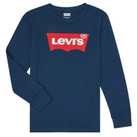 material Boy Long sleeved shirts Levi's BATWING TEE LS Blue