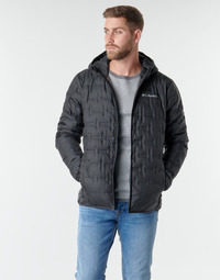 material Men Duffel coats Columbia DELTA RIDGE DOWN HOODED JACKET Black