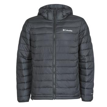 material Men Duffel coats Columbia POWDER LITE HOODED JACKET Black