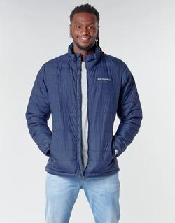 material Men Duffel coats Columbia POWDER LITE JACKET Blue
