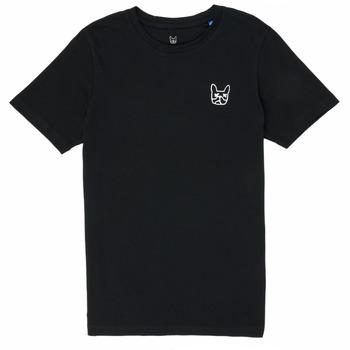 material Boy short-sleeved t-shirts Jack & Jones JJAARHUS TEE Black