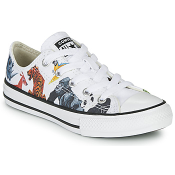 Shoes Children Low top trainers Converse CHUCK TAYLOR ALL STAR - SCIENCE CLASS White / Multicolour