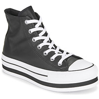 Shoes Women High top trainers Converse CHUCK TAYLOR ALL STAR PLATFORM LAYER - RETRO TONES Black