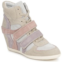 Shoes Women High top trainers Ash BIXI Pink / Violet / Grey