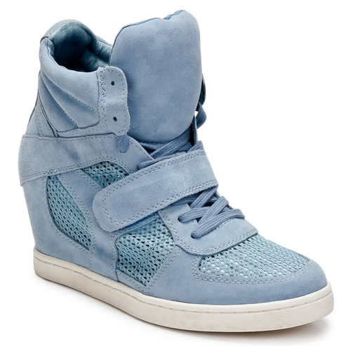 Shoes Women High top trainers Ash COOL Blue