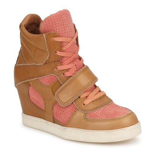 Shoes Women High top trainers Ash COCA Brown / CORAL