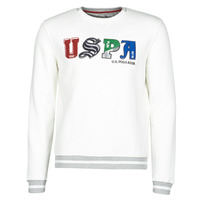 material Men sweaters U.S Polo Assn. ANSON FLEECE White