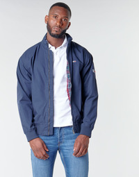 material Men Blouses Tommy Jeans TJM CUFFED COTTON JACKET Marine