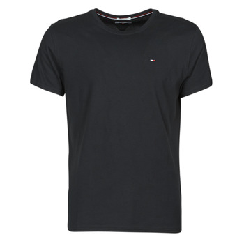 material Men short-sleeved t-shirts Tommy Jeans TJM ORIGINAL JERSEY TEE Black