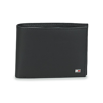 Bags Men Wallets Tommy Hilfiger ETON CC AND COIN POCKET Black
