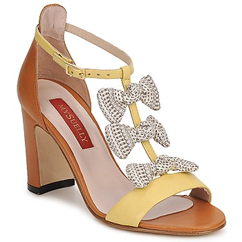 Sandals MySuelly NOE Yellow / Brown 350x350
