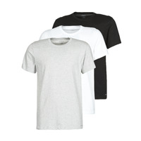 material Men short-sleeved t-shirts Calvin Klein Jeans CREW NECK 3PACK Grey / Black / White
