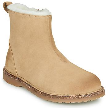 Shoes Women Mid boots Birkenstock MELROSE SHEARLING Beige