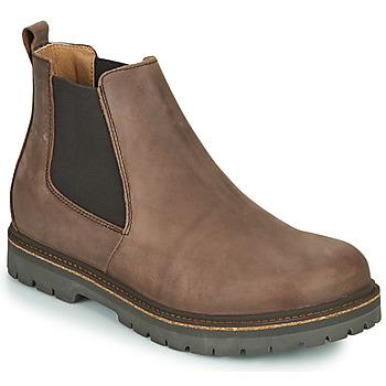 Shoes Men Mid boots Birkenstock STALON Brown